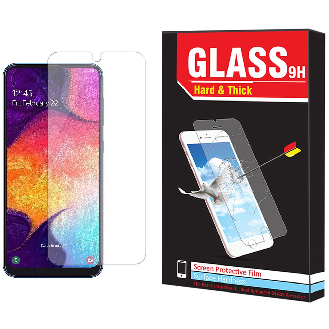 محافظ صفحه نمایش Hard and thick مدل F-01 مناسب برای گوشی موبایل سامسونگ Galaxy A30s