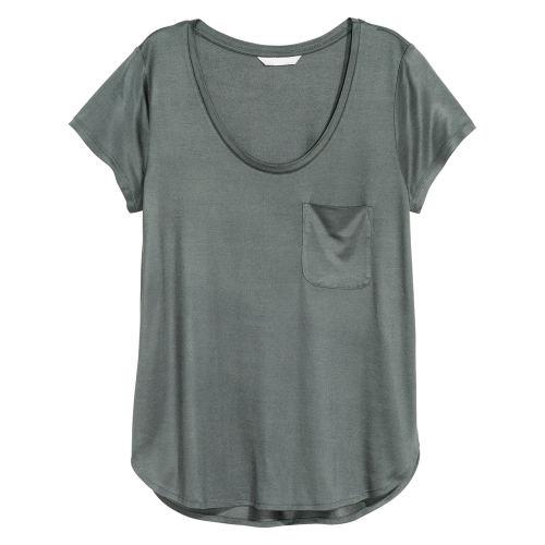 تی شرت زنانه اچ اند ام کد 055