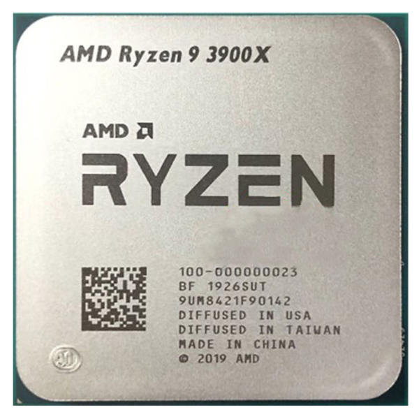 پردازنده مرکزی ای ام دی مدل Ryzen 9 3900X