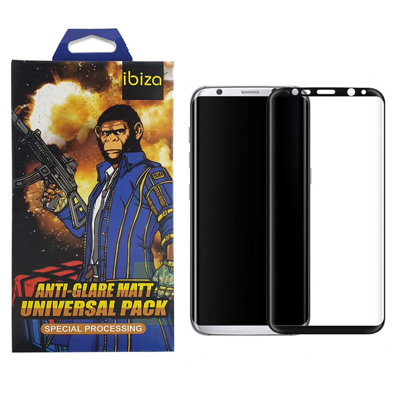 محافظ صفحه نمایش 9D ایبیزا مدل Monk7777-eg مناسب برای گوشی موبایل سامسونگ Galaxy S8