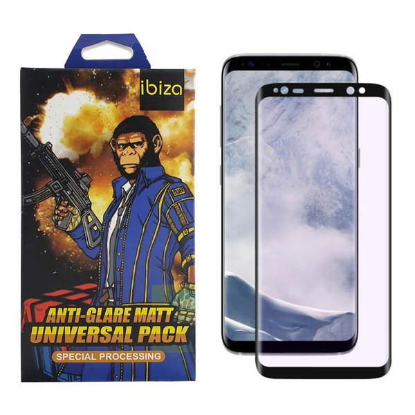 محافظ صفحه نمایش 9D ایبیزا مدل Monk7777-eg مناسب برای گوشی موبایل سامسونگ Galaxy S8 Plus