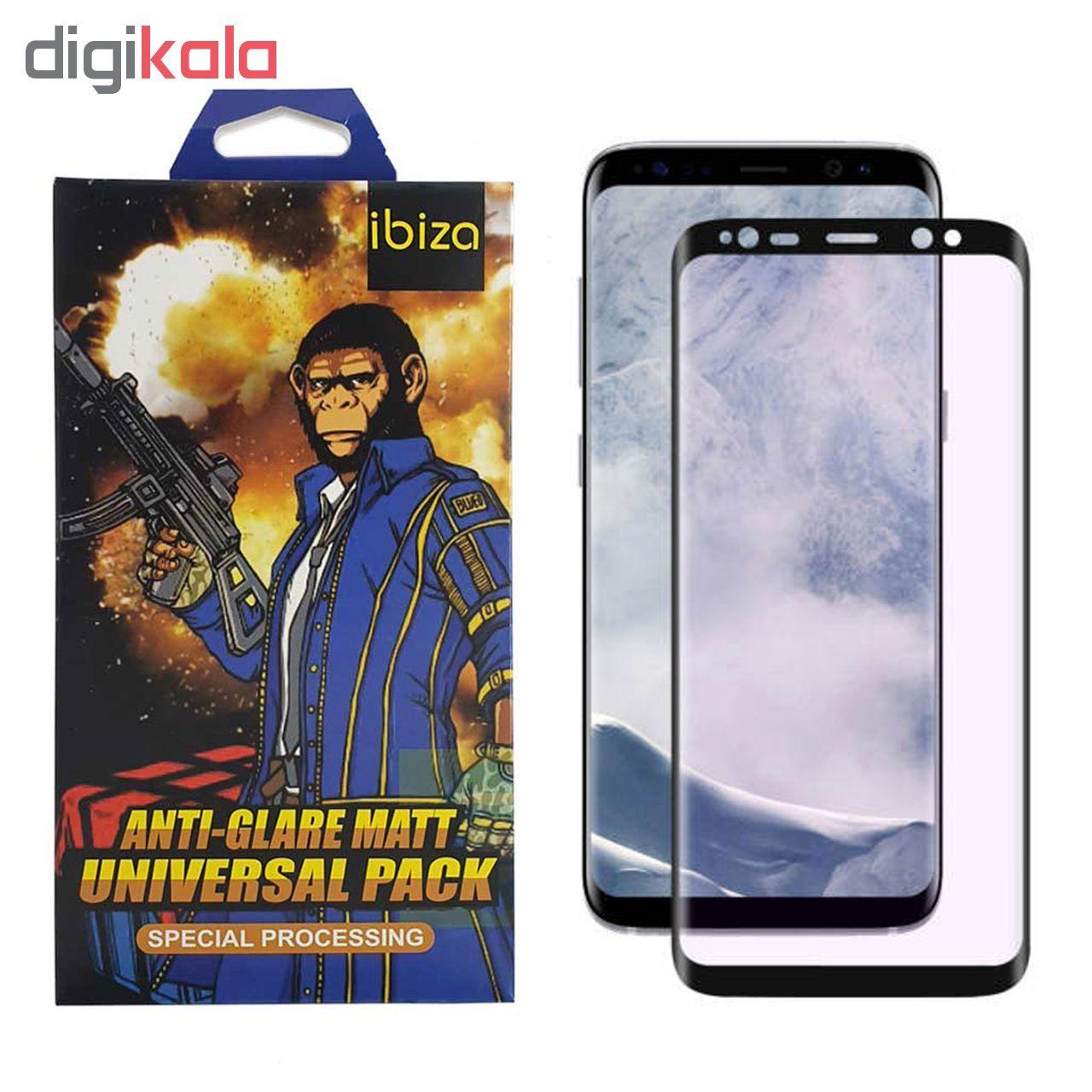 محافظ صفحه نمایش 9D ایبیزا مدل Monk7777-eg مناسب برای گوشی موبایل سامسونگ Galaxy S8 Plus main 1 1