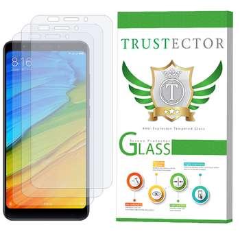 محافظ صفحه نمایش تراستکتور مدل GLS مناسب برای گوشی موبایل شیائومی Xiaomi Redmi Note 5 / Redmi 5 Plus بسته 3 عددی
