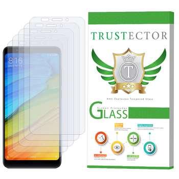 محافظ صفحه نمایش تراستکتور مدل GLS مناسب برای گوشی موبایل شیائومی Xiaomi Redmi Note 5 / Redmi 5 Plus بسته 5 عددی
