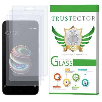 محافظ صفحه نمایش تراستکتور مدل GLS مناسب برای گوشی موبایل شیائومی Redmi 5A بسته 3 عددی