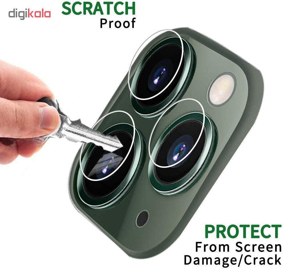 محافظ لنز دوربین مدل GL-102 مناسب برای گوشی موبایل اپل Iphone 11 Pro main 1 3
