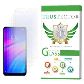 محافظ صفحه نمایش تراستکتور مدل GLS مناسب برای گوشی موبایل شیائومی Redmi 7 بسته 5 عددی