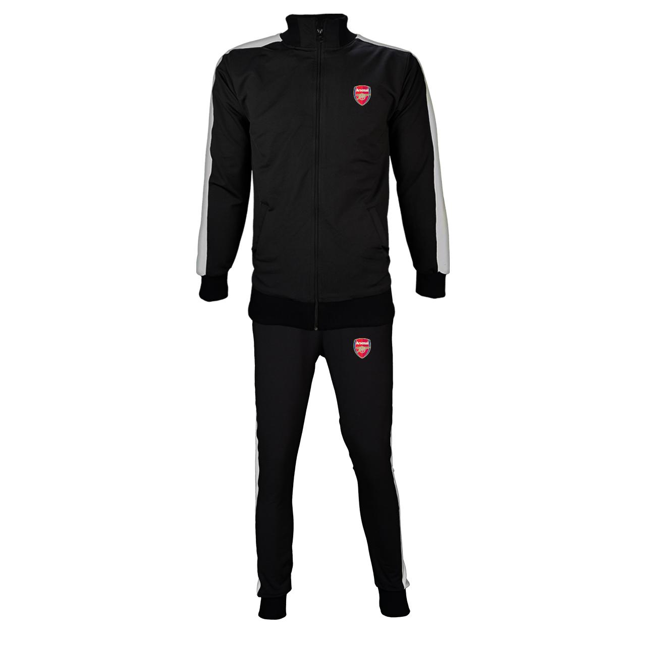 ست سویشرت و شلوار ورزشی مردانه پاتیلوک طرح آرسنال کد 81005
