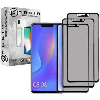 محافظ صفحه نمایش حریم شخصی مسیر مدل MGFPV-3 مناسب برای گوشی موبایل هوآوی Nova 3i  بسته سه عددی