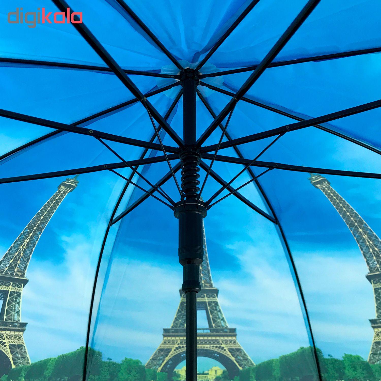 چتر طرح ایفل در تابستان کد 663