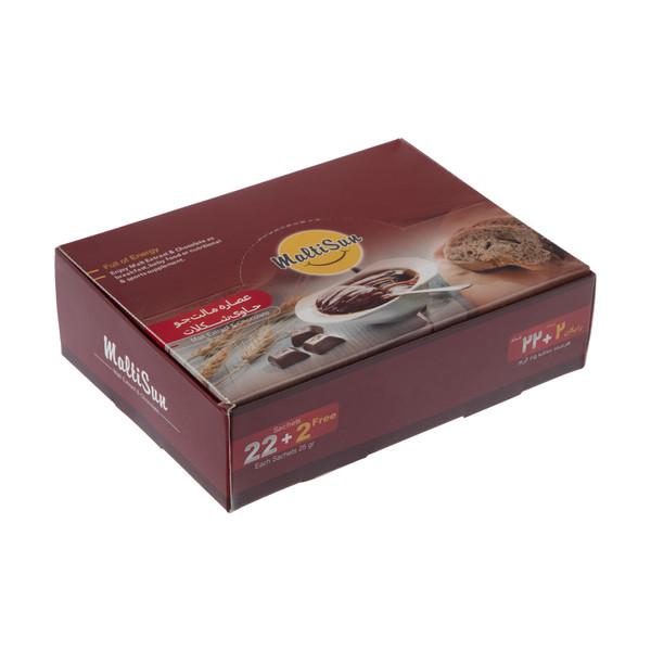 عصاره مالت جو مالتی سان با شکلات - بسته 24 عددی