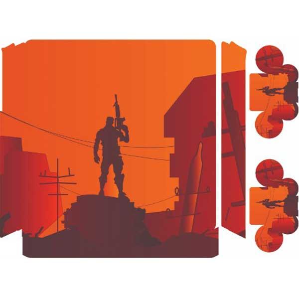 برچسب کنسول پلی استیشن 4 مدل Fortnite2