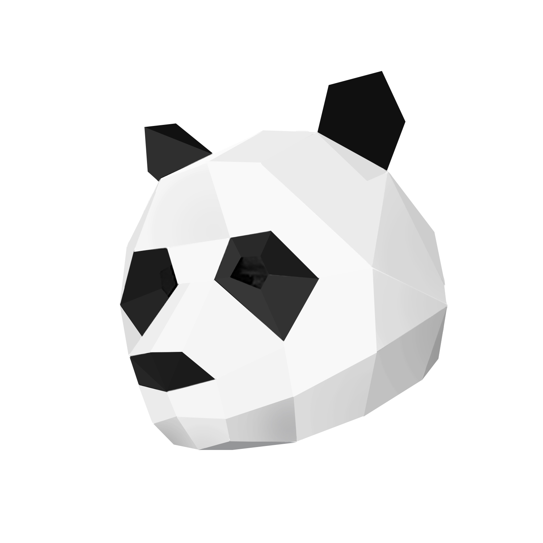 ماسک صورت هلو تویز مدل Panda mask