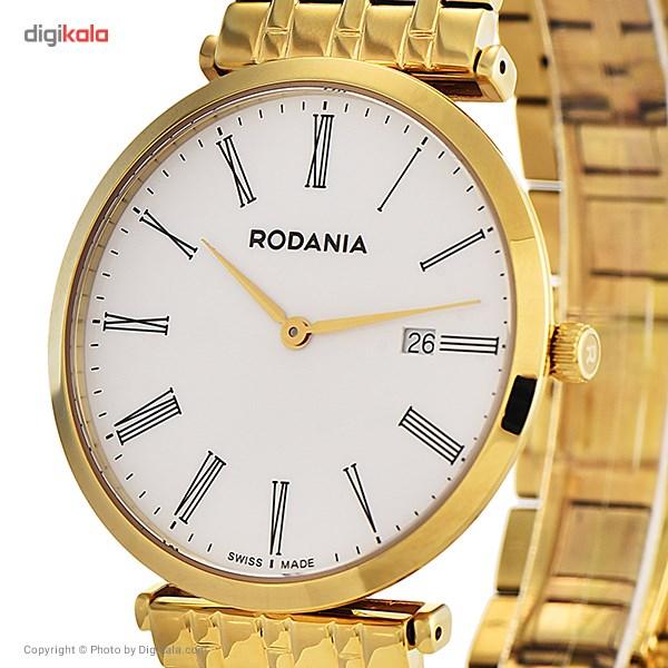 ساعت مچی عقربه ای مردانه رودانیا مدل R.02505662