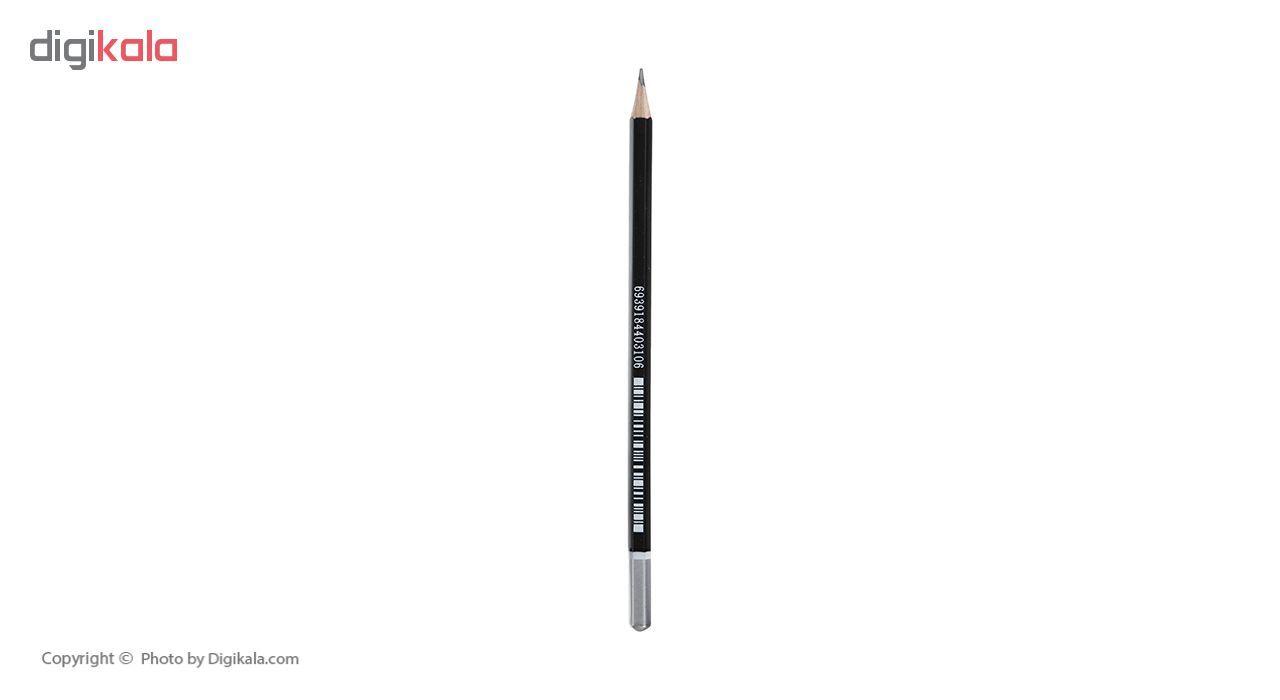 مداد مشکی پنتر مدل Multi Use بسته 12 عددی main 1 5