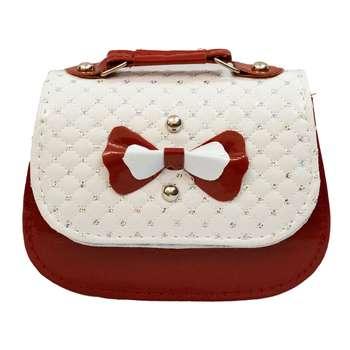کیف دستی دخترانه طرح پاپیون کد B03