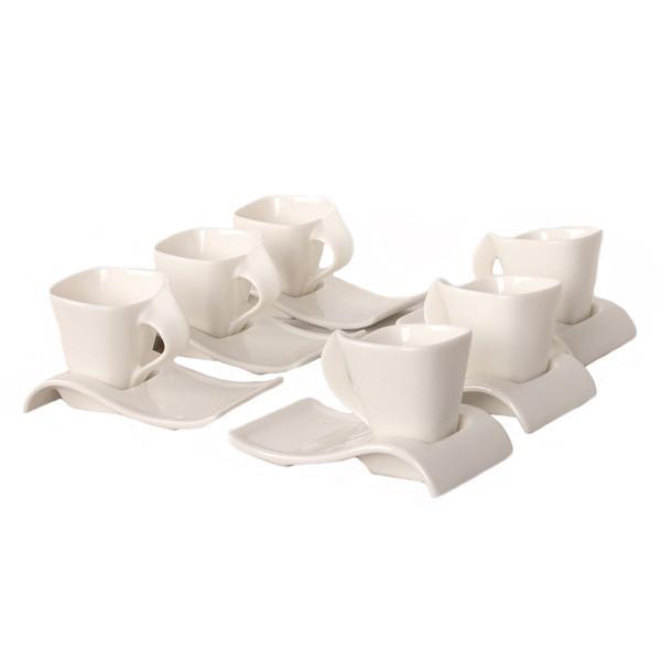 سرویس قهوه خوری 12 پارچه شفر کد 8