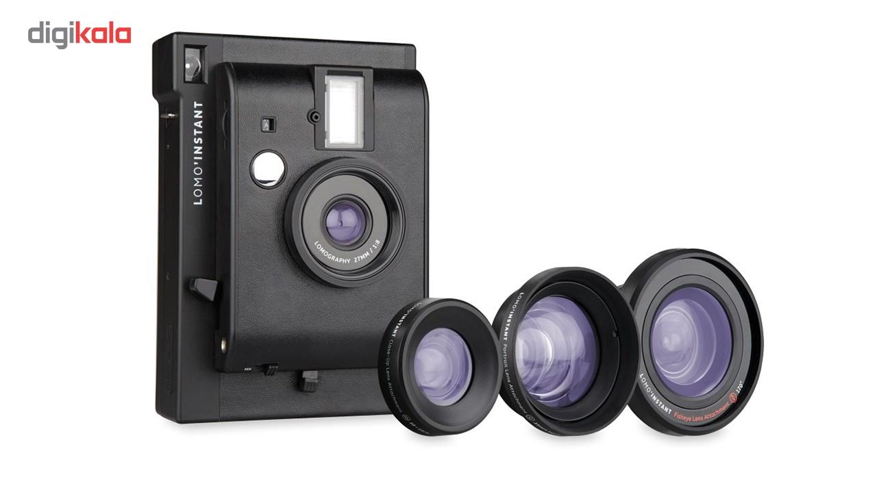 دوربین چاپ سریع لوموگرافی مدل Black به همراه سه لنز