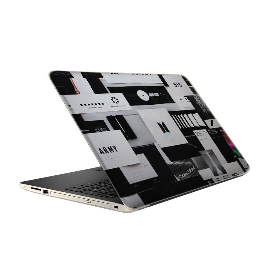 استیکر لپ تاپ طرح BTS مدل TIE430 مناسب برای لپ تاپ 15.6 اینچ