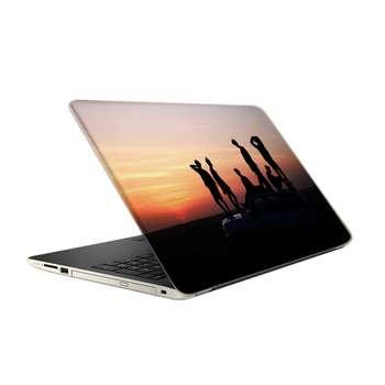 استیکر لپ تاپ طرح BTS مدل TIE434 مناسب برای لپ تاپ 15.6 اینچ
