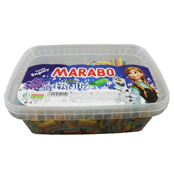پاستیل لقمه ای با طعم میوه مارابو مقدار 700 گرم