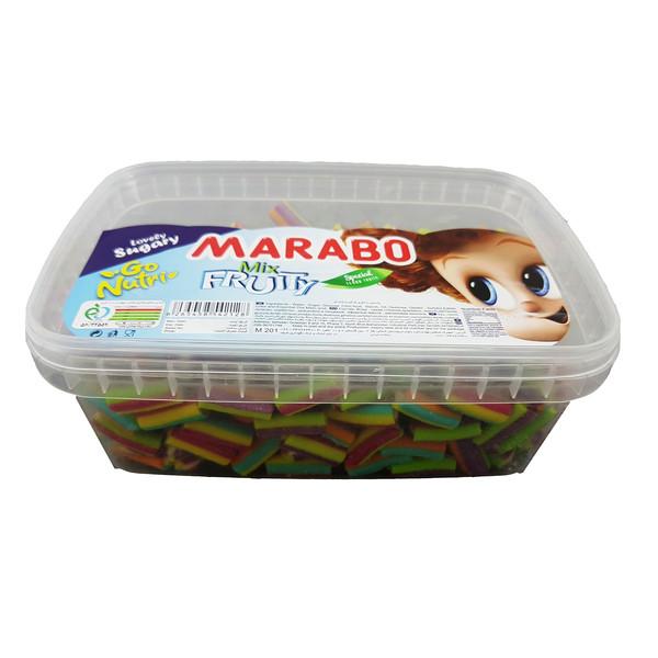 پاستیل شکری با طعم میوه مارابو مقدار 800 گرم