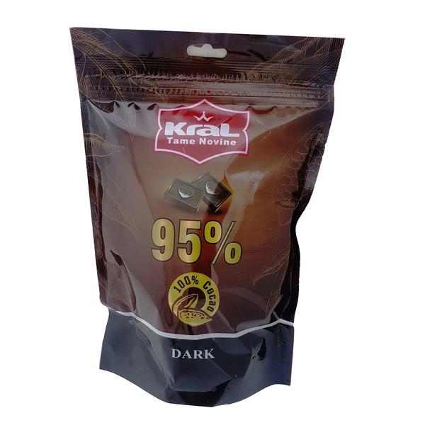 شکلات تلخ 95 درصد کرال مقدار 200 گرم