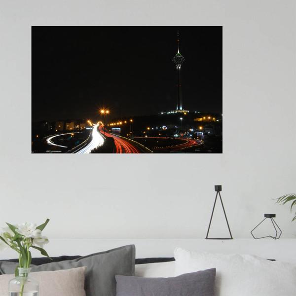 تابلو شاسی طرح شب های تهران کد 0139
