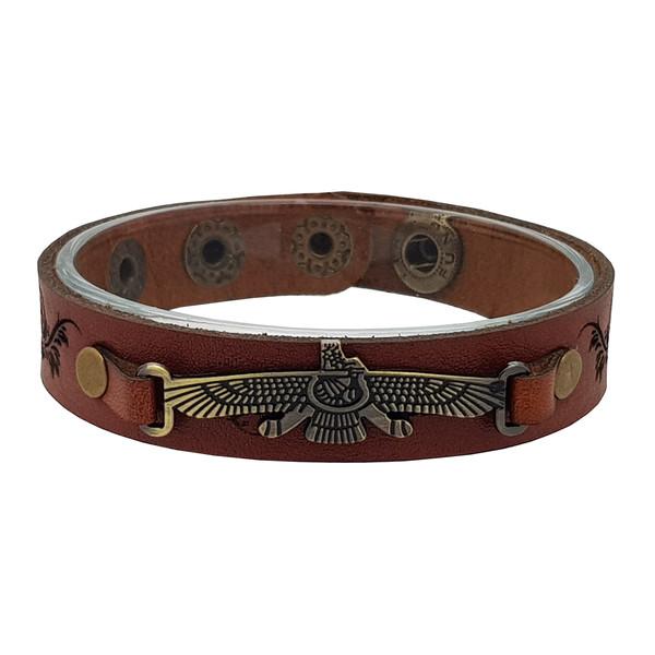 دستبند چرم خاطره کد 102