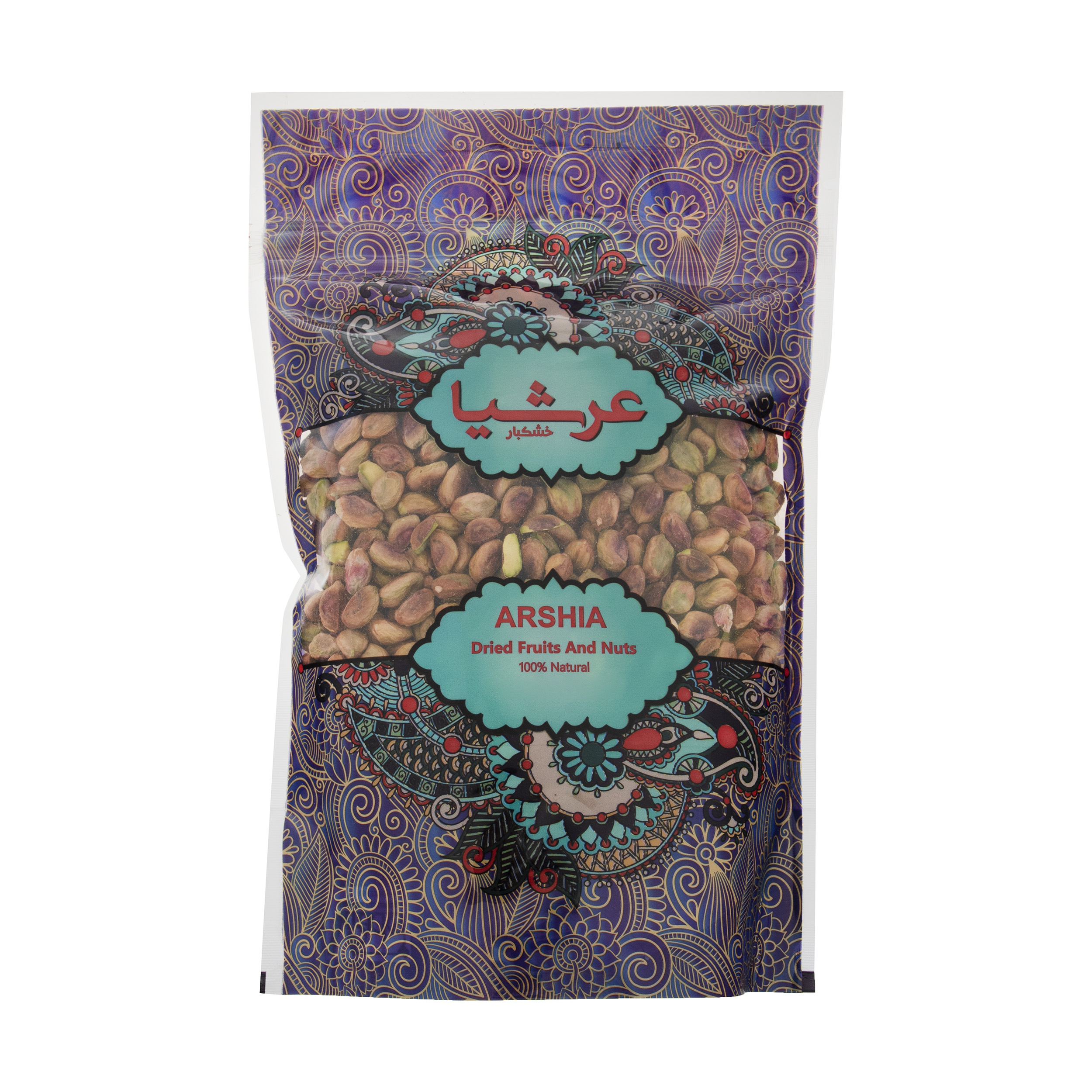 Arshia Raw Pistachio Nuts 750 grams