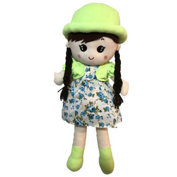 عروسک طرح دختر مو بلند ارتفاع 70 سانتی متر