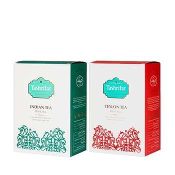 چای سیلان تشریفات مقدار 450 گرم به همراه چای هندی