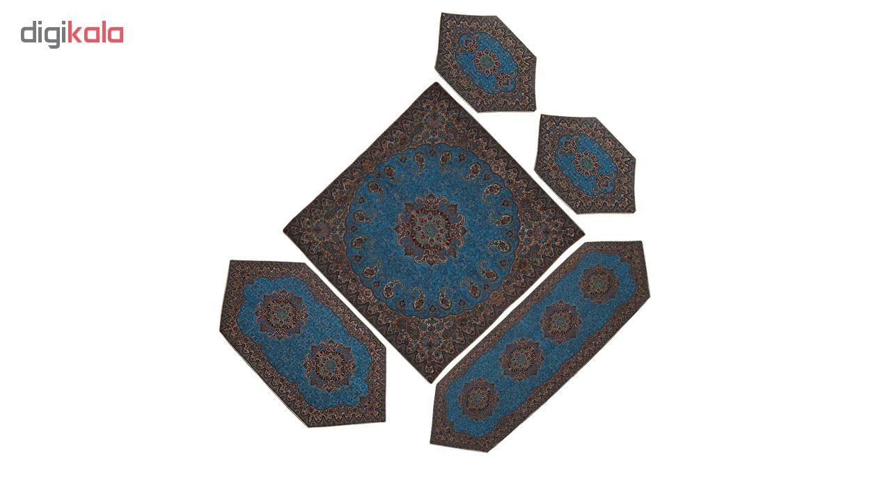 5 PCS Cashmere tablecloth, code 4057