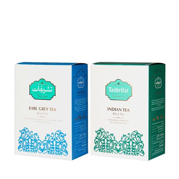 چای ارل گری تشریفات مقدار 450 گرم به همراه چای هندی