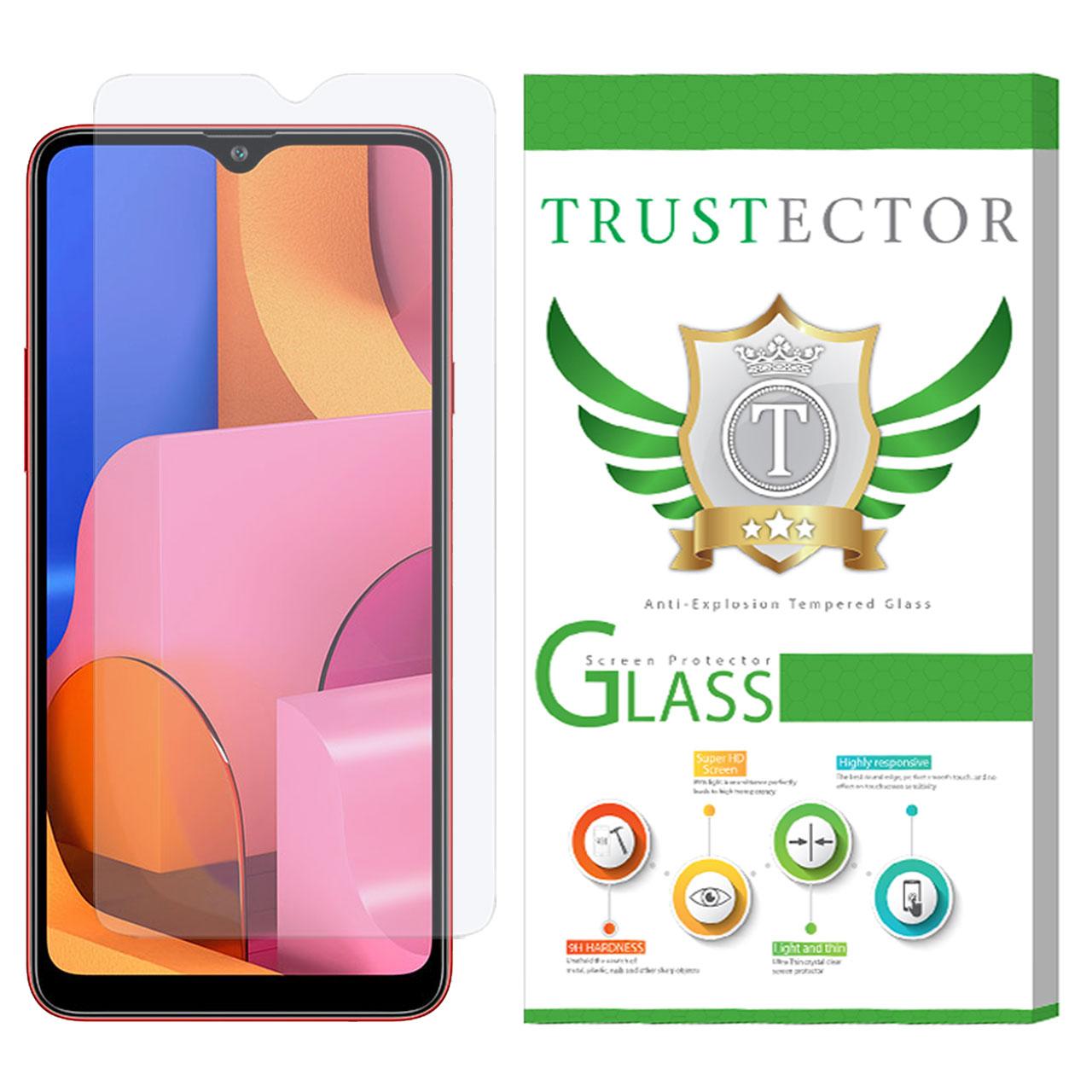محافظ صفحه نمایش تراستکتور مدل GLS مناسب برای گوشی موبایل سامسونگ Galaxy A20s              ( قیمت و خرید)