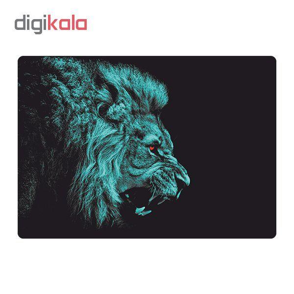 استیکر لپ تاپ طرح  lion کد 02 مناسب برای لپ تاپ 15.6 اینچی main 1 2