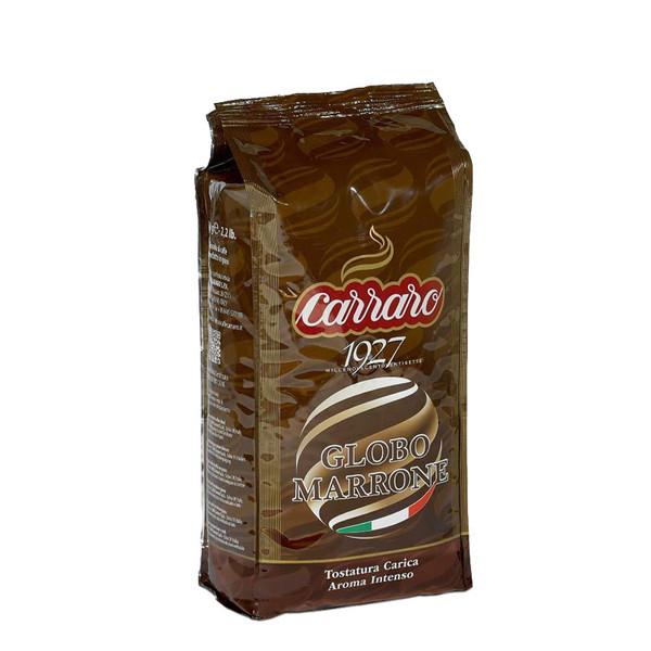 بسته دانه قهوه کارارو مدل GLOBO MARRONE مقدار 1000 گرم