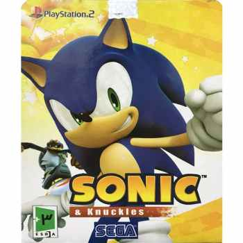 بازی Sonic & Knuckles مخصوص PS2