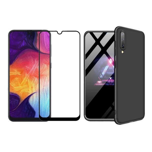 کاور 360 درجه مسیر مدل MGKS6-MGF-1 مناسب برای گوشی موبایل سامسونگ Galaxy A50 به همراه محافظ صفحه نمایش
