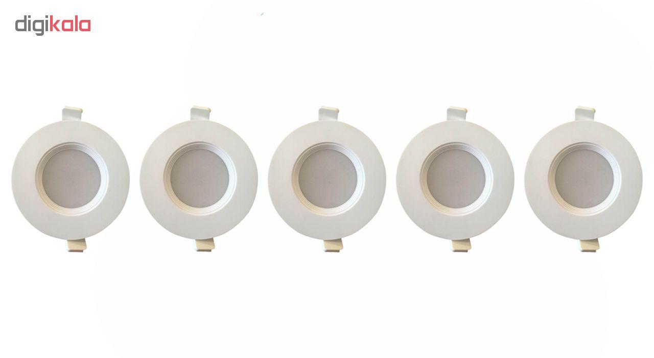 لامپ ال ای دی 10 وات سیدکو مدل p12 پایه Gu10 بسته 5 عددی