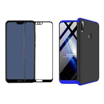 کاور 360 درجه مسیر مدل MGKS6-MGF-1 مناسب برای گوشی موبایل هوآوی Y9 2019 به همراه محافظ صفحه نمایش
