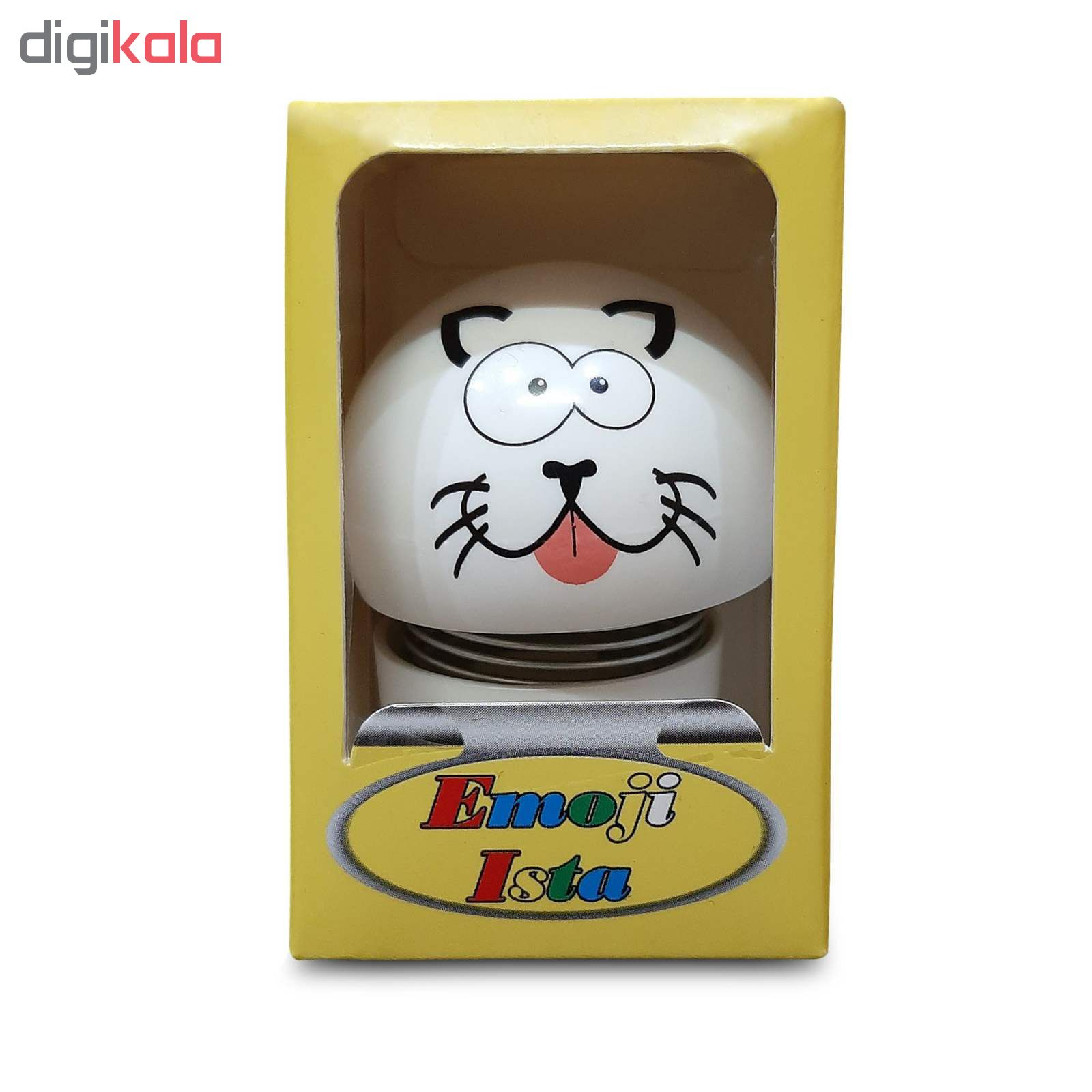 عروسک فنری طرح گربه کد 250