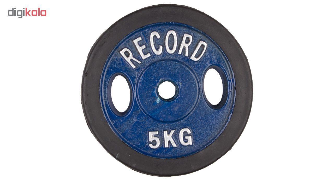 وزنه دمبل رکورد کد 1621 وزن 5 کیلوگرم بسته 2 عددی main 1 1