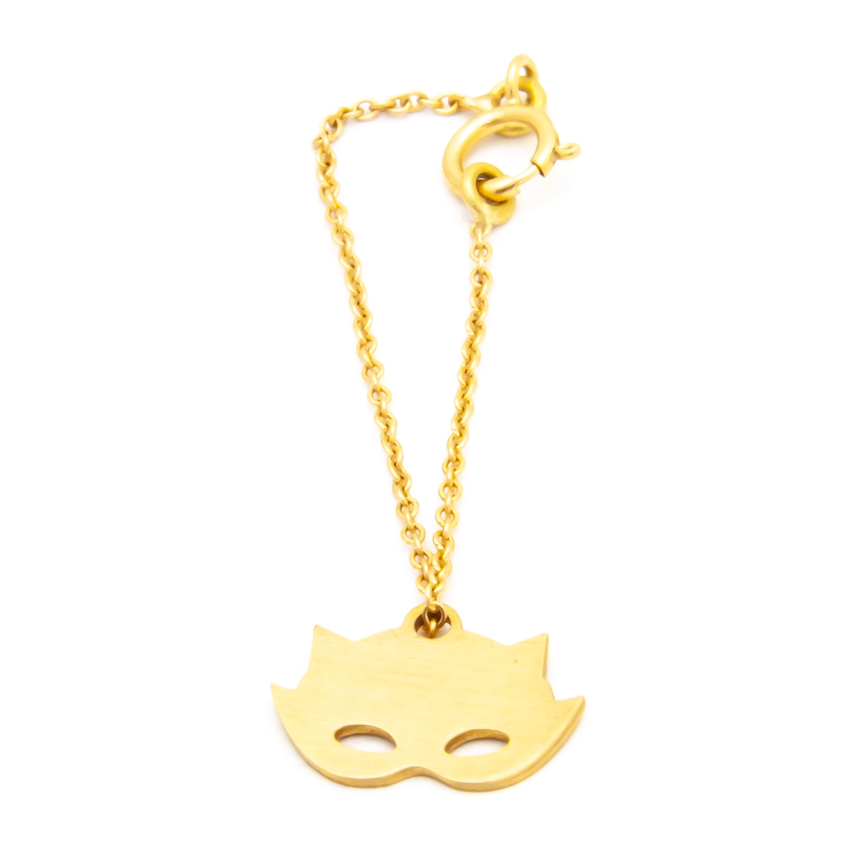 آویز ساعت طلا 18 عیار  زنانه غزال مدل گربه کد GGE018