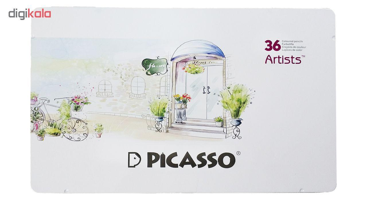مداد رنگی 36 رنگ پیکاسو مدل Artist-Florist main 1 1