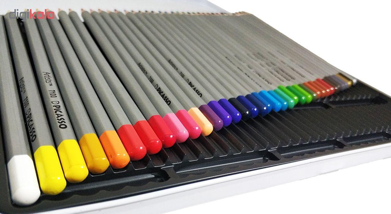 مداد رنگی 36 رنگ پیکاسو مدل Artist-Florist main 1 5