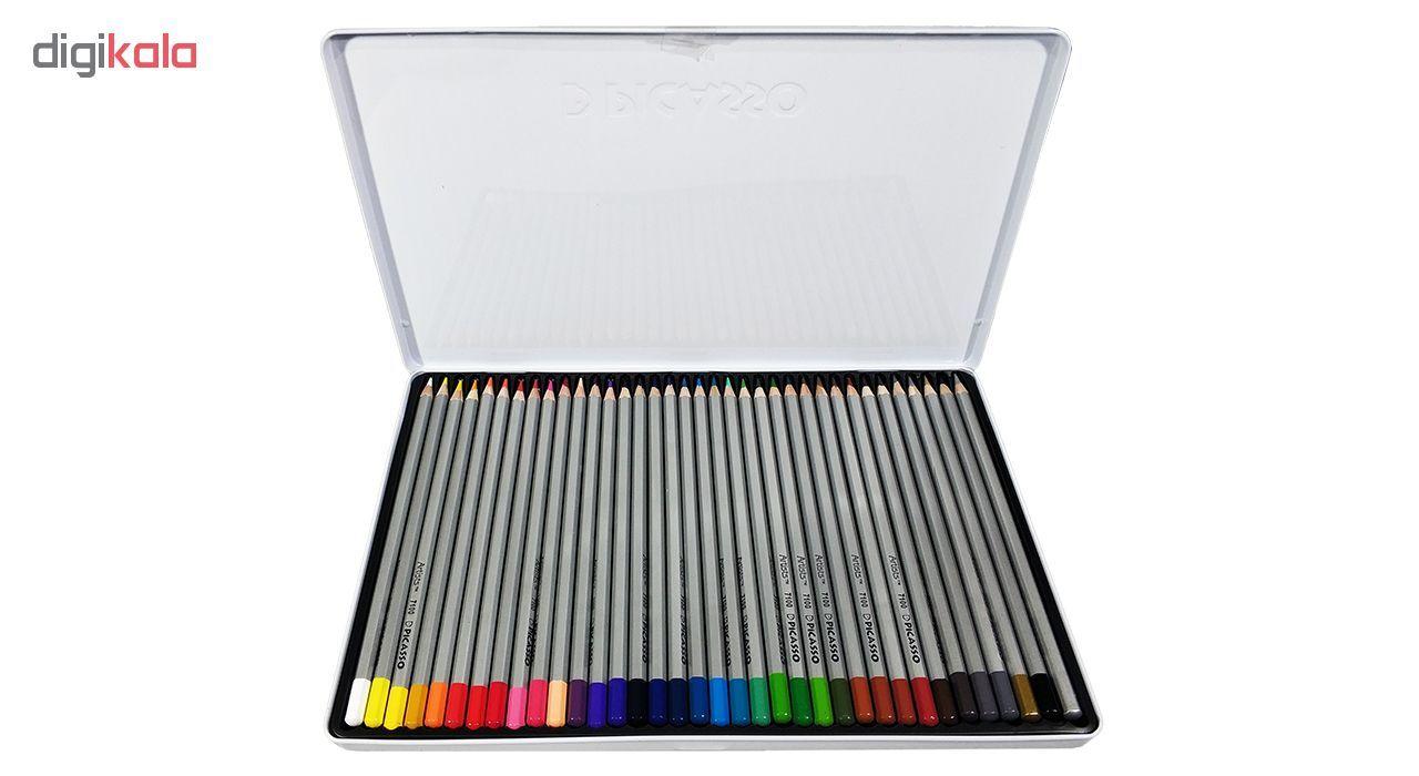 مداد رنگی 36 رنگ پیکاسو مدل Artist-Florist main 1 6