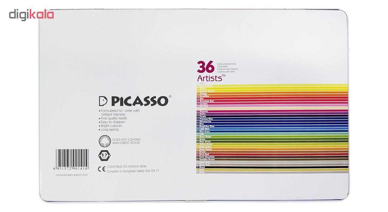 مداد رنگی 36 رنگ پیکاسو مدل Artist-Florist main 1 7