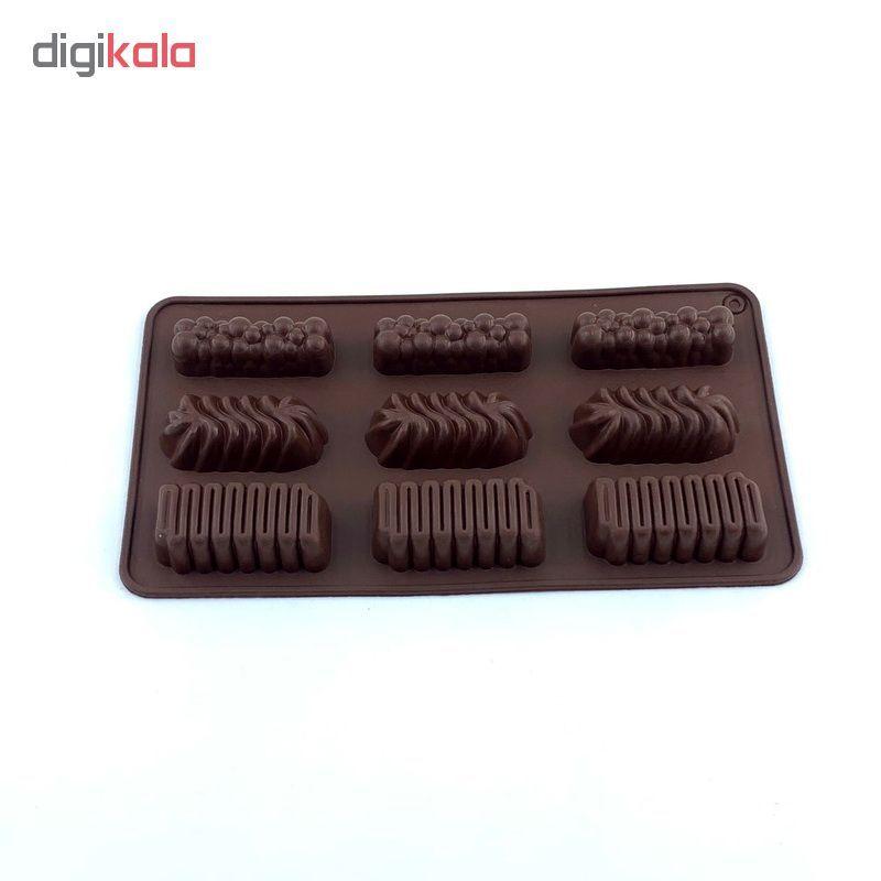 قالب شکلات کد 1128 طرح اسنیکرز main 1 1