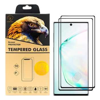 محافظ صفحه نمایش گلدن ایگل مدل DFC-X2 مناسب برای گوشی موبایل سامسونگ Galaxy Note 10 بسته دو عددی
